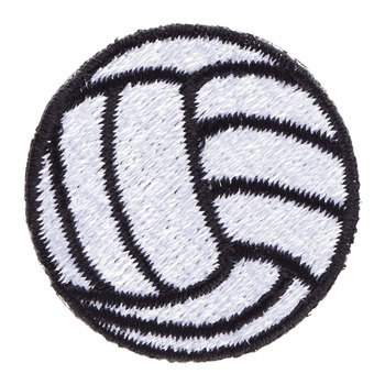 Volleyball Iron-On Appliques